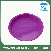 Jiangmen wholesale High quality large silicone pizza pan
