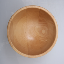 Wholesale large birch wooden salad bowl