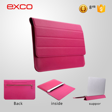 EXCO adjustable laptop support casual brand custom leather case for macbook air 11.6 laptop
