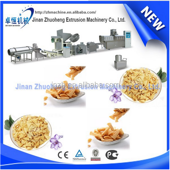 Cheetos machine/NikNaks processing line/Fried Kurkure Snacks food makes Machines
