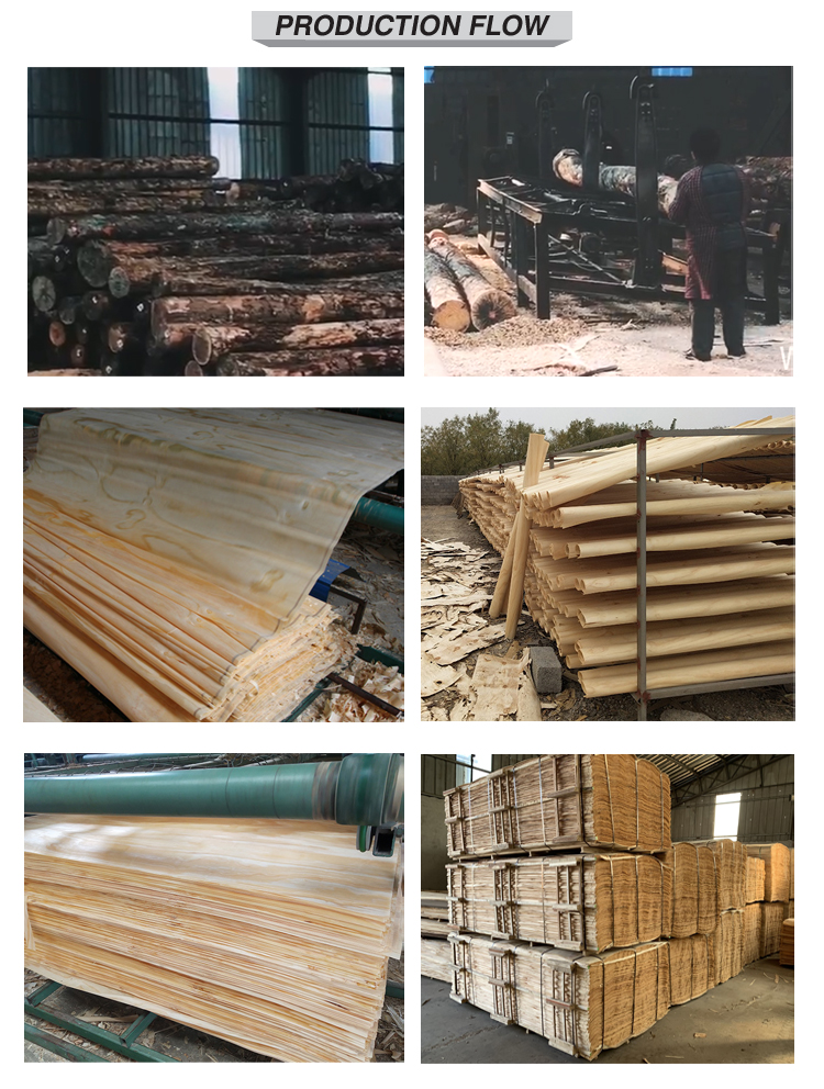 Rotary cut wood veneer radiata pine