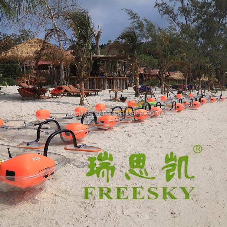2016 Polycarbonate Plastic Sea Kayak Boats China for Sale