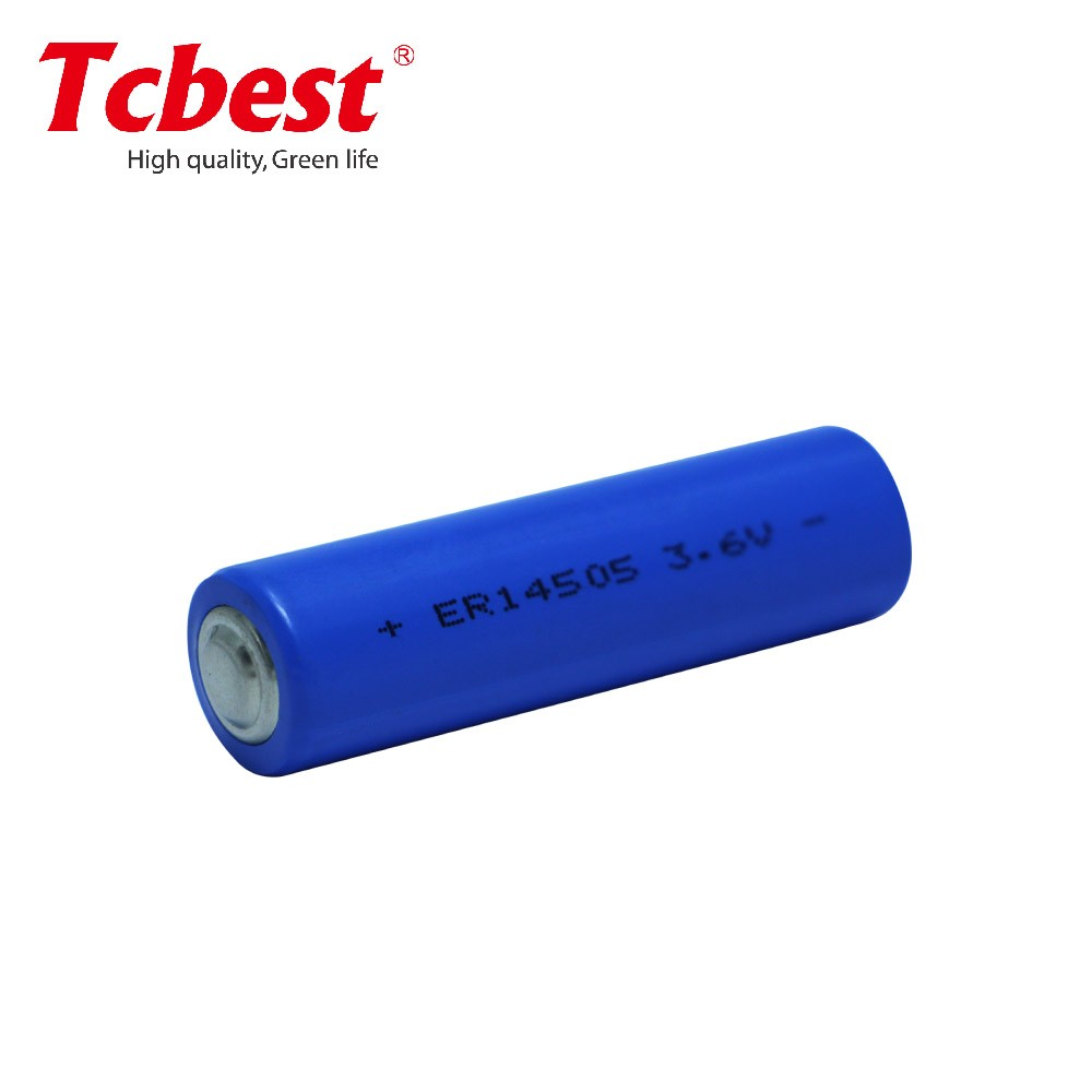 3.6v ER14505 Li-SOCI2 batteries, the lithium battery from tcbest battery China top supplier/