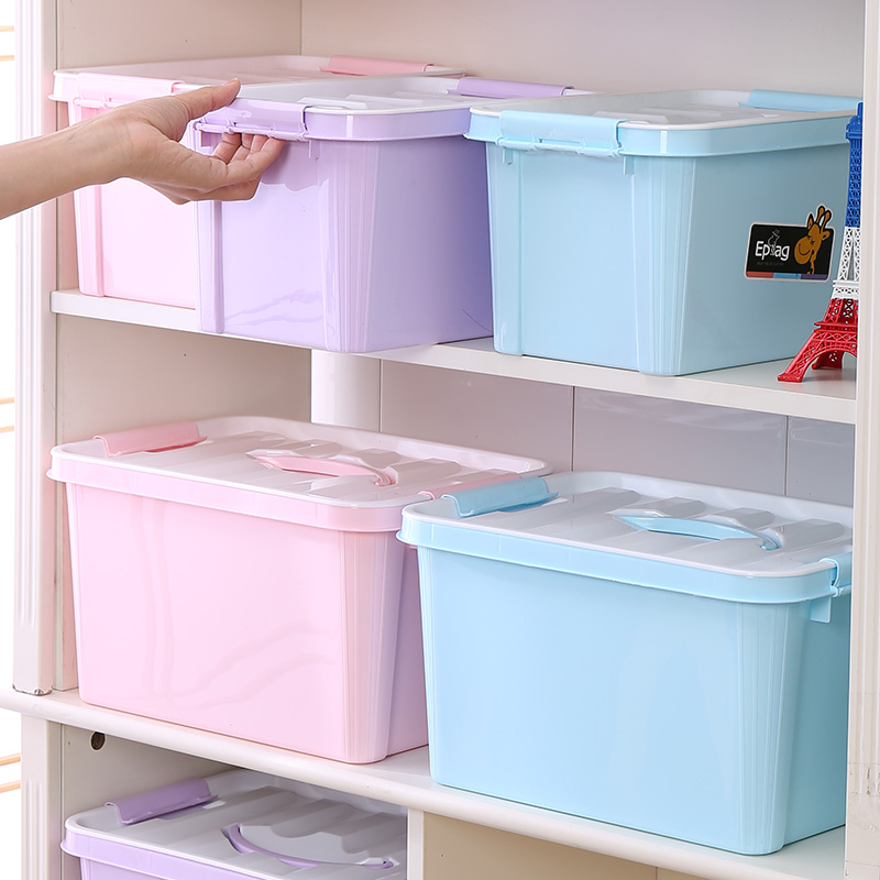 Shunfu EPAG Top 10 save 5% durable 1084 46*32*24 cigarette storage box colorful plastic storage container