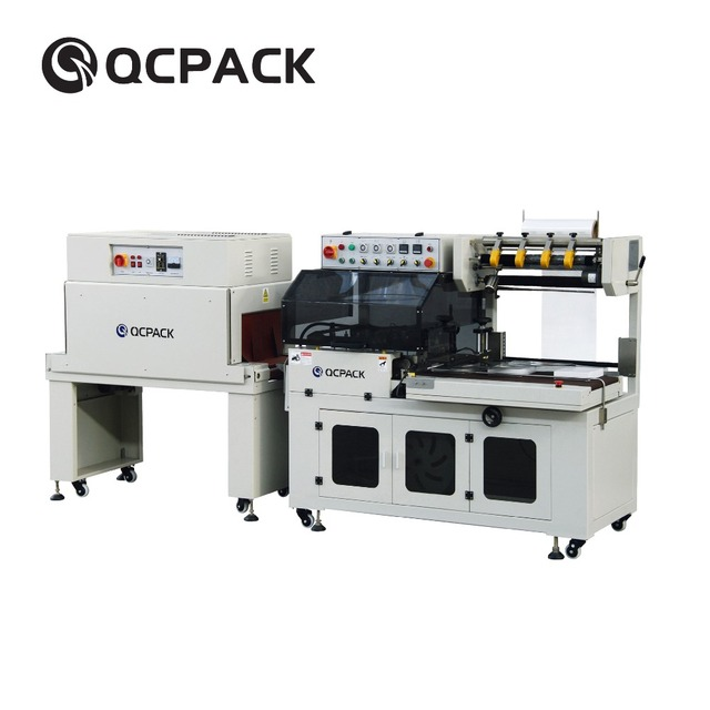 Widely Used Makeup Box Heat Shrink Packing Machine