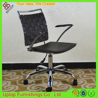 (SP-LC290) New adjustable movable swivel brown leather office chair