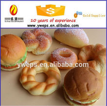 YIPAI Squishy Fake Bread Model For Bakery display home decoration