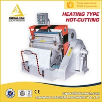 ML-1100+ PP Plastic card Film PVC Die cutting machine with heating