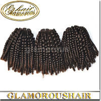 100 Fashion Cheap Human Hair Bulk Grade6A Mongolian Human Hair Weft Kinky Curly Hair