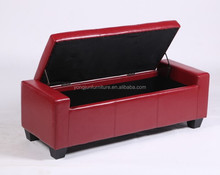 long ottoman storage bench, high quality storage ottoman,Wooden ottoman for chain store furniture/YJ-212