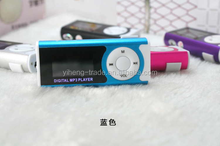 Mini Mp3 <strong>Player</strong> for Running Jogging Fitness Gym/Mini Clip MP3 <strong>Player</strong>/Mini USB Clip Digital MP3 <strong>Player</strong>