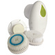 Factory Direct Sell Portable Three-in-One Electric Rotating Facial Cleansing Brush Face Scrubber