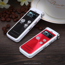 High sensitive stereo MIC voice recorder with external storage