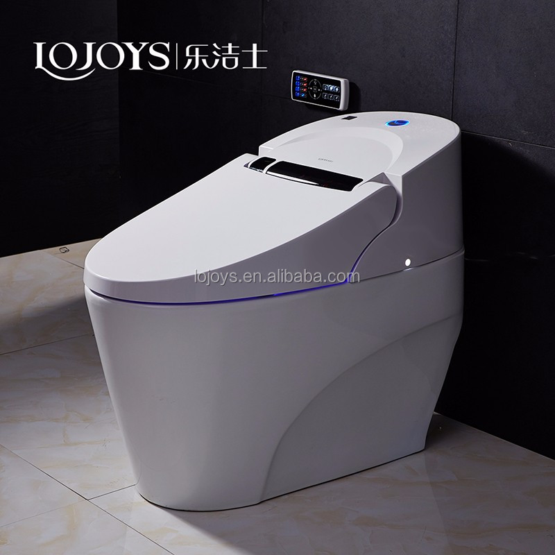 Bathroom economic and comfortable ceramic one piece toto China smart toilet from toilet factory