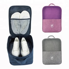 Outing portable handle waterproof compartment soccer shoe carry tote pouch golf shoes dust <strong>bag</strong>
