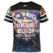 2014 Mens NEW YORK Sublimation Full Graphic Printed T-shirt