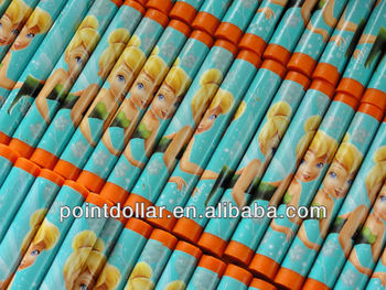Bulk packaging orange color Oil Pastels crayon for Kids