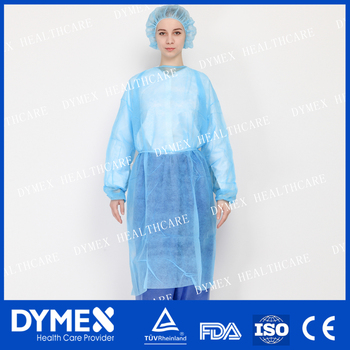 Professional Protective SMS Isolation Gown Disposable Medical Patient Gown