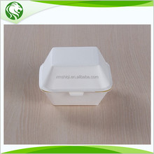 Foam plastic alternatives paper Burger packing box for food