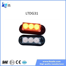 LED police lights/red/blue/amber/white/many flash patterns LTDG31