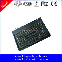 Super slim silicone rubber IP65 computer keyboard