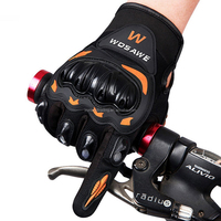 Hot Three Sizes Riding Gloves Heavy Duty Durable Sports Motor Bike Racing Full Finger Gloves
