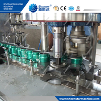 small beer canning line soft drink canning machine