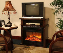Easy operation energy saving marble electric fireplaces