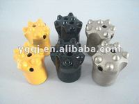 Cold pressing drill bits for hard stone