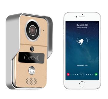 720P Smart Wifi Video Door Bell WiFi Video Door Phone Unlock Control Mobile View P2P Onvif  sc 1 th 215 & 720P Smart Wifi Video Door Bell WiFi Video Door Phone Unlock Control ...