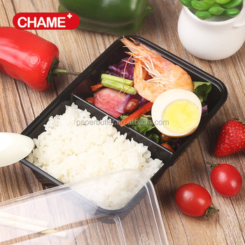 Chinese 750ml plastic microwaveable fast food takeaway box