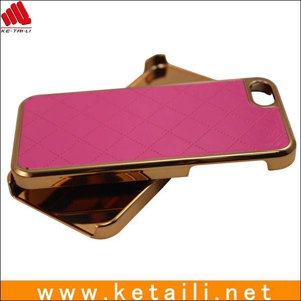 Lagging Leather Phone Case For Iphone 5