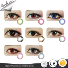 wholesale half-moon Magic eyes lens colored contact lenses soft contact lens