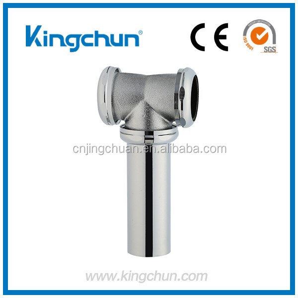 Australia Standards chrome plated pipe connecter flexible basin waste fitting (B123)