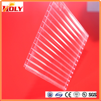 transparent plastic sheet for balcony roof cover