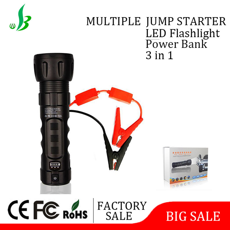 China suppliers portable 10000mAh jump start battery booster with patent
