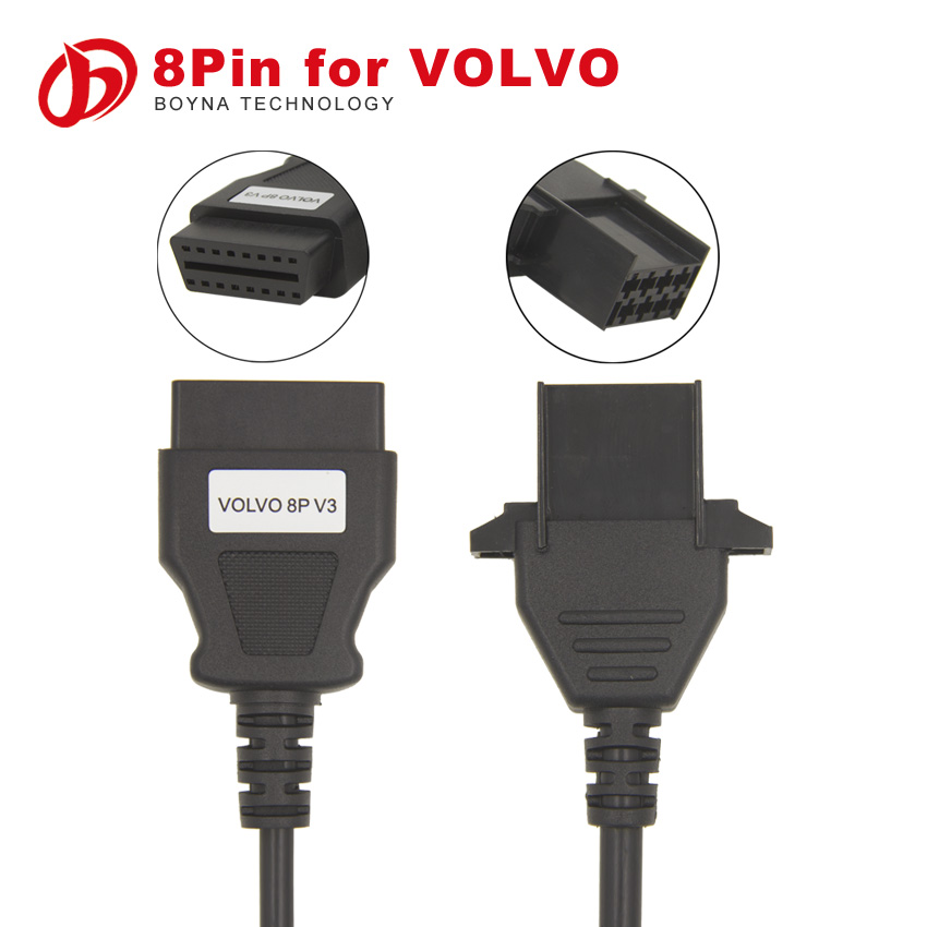 2015 New arrival 8 Pin For VOLVO/MACK Adapter for nexiq high quality