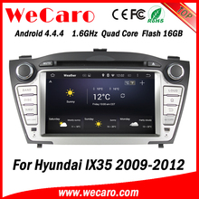 Wecaro WC-HIX701 Android 4.4.4 Touch Screen car radio for hyundai ix35 multimedia dvd player 2009 2010 2011 2012