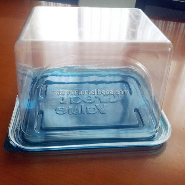 Plastic Cupcake Boxes Transparent Cake Box