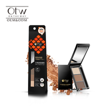 OTW eyebrow makeup products eye brow powder 3 color coutouring eyebrow palette