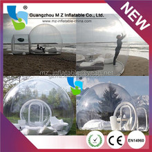 200N Tear Strength Good Quality Transparent Inflatable Tent