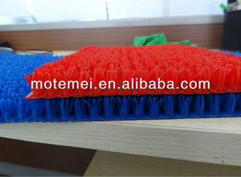 PE plastic turf mat with ISO9001 certificate