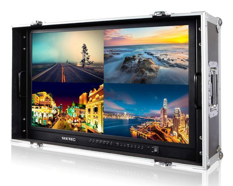 SEETEC 28 inch 4k carry-on broadcast director monitor with efficency