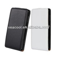 Flip Real Leather Case for Sony Xperia L S36h C2105 Case