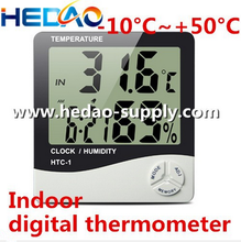 Indoor Humidity Thermometer Wall Mount Monitor Sensor Thermostat For Home Office