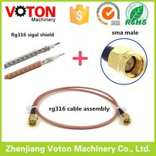 china market headphon sma plugs connection jumper cable