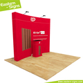 8ft Tension Fabric Display booth