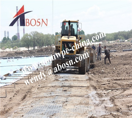 Durable Construction Road Mat for Heavy Vehicles