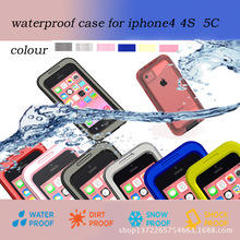 Newest Waterproof Shockproof Dirt Snow Proof Durable Case For iPhone 5C
