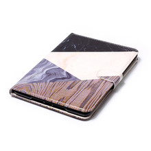 Newest Marble Design TPU Silicon with Card Holder Shockproof Decorative Tablet Case for Apple iPad mini 3 / 2 / 1